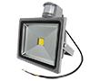 Naświetlacz LED COB 30W z czujnikiem ruchu PIR, b. naturalna, 2200lm, 120°, 230V: OLFL.BN.30Wks-ms