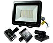 Naświetlacz LED SMD 50W z czujnikiem ruchu PIR , b. natur., 4000lm, 120°, 230V: OLFL.BN.50Wcn-ms