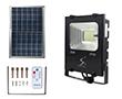 Naświetlacz LED 20W z panelem solarnym, b.zimna, 1500lm, 120°: OLFL.BZ.20Wsn_SOL
