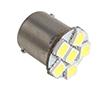 Żarówka LED samochodowa, 1W, biała zimna (6500K), 90÷100lm, 24VDC: OLI.BA15.6P6-BZ24
