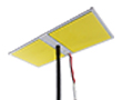 Latarnia LED 100W, b. zimna (7000K), 11000 lm, 140°, 12V DC, 2xCOB: OLI.BZ.100W-TELESCOPE