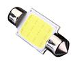 Żarówka LED samochodowa, 1W, biała zimna (6500K), 100lm, 12VDC: OLI.C5W.1HP-BZ