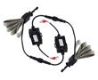 Św. mijania/drogowe LED Canbus, 80W kpt, BZ (6000K), 9600lm kpt, 9÷30VDC: OLI.H7.2CR20X.RC-BZ