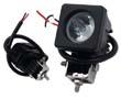 Lampa robocza LED, 10W, biała zimna (6000K), 800lm, 10°, 9÷30VDC: OLI.WK.10W-SQCR