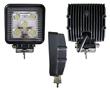 Lampa robocza LED, 15W, biała zimna (6000K), 1100lm, 30°, 10÷30VDC: OLI.WK.15W-SQ