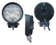 Lampa robocza LED, 24W, biała zimna (6000K), 1760lm, 30°, 10÷30VDC: OLI.WK.24W-RO