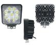 Lampa robocza LED, 27W, biała zimna (6000K), 1980lm, 60°, 10÷30VDC: OLI.WK.27W-EDF