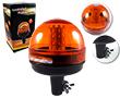 Kogut LED 14.0W, b pomarańczowa, 360°, 12-24V DC, Wymiary: d130x180mm,: OLKBP.14.0W-IC_14