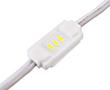 Moduł LED wtryskowy, 0.3W, biała zimna (10000÷12000K), 27÷30lm, 120°, 12VDC: OLLBZ.0.3W3-y-3