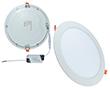 Okrągły panel oświetleniowy LED / oprawa wpuszczana: OLLP.BN.18W230R_MICROS