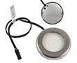 Oczko LED Srebrne 2.4W, biała naturalna, 250lm, 50°, 12VDC, Wymiary: d50x7,5: OLM.BN.R2.4W-d50x7.5
