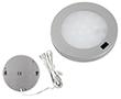 Oczko LED IR Srebrne 3.0W, biała naturalna, 300lm, 120°, 12VDC, Wymiary: d80x8mm: OLM.BN.R3.0W-d80x8_IR