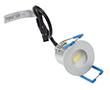 Oczko LED Srebrne, 1.5W, biała zimna, 140lm, 80°, 12VDC, Wymiary: d30x35: OLM.BZ.R1.5W-d35x30