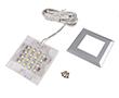 Lampa Squere 2, 1.2W, 85lm, biała zimna, 12VDC, wymiary: 53*53*7mm: OLM.LSQ.BZ-1.2W