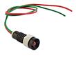 Kontrolka LED pomarań; wklęsła; średnica otw. Montażowego: 11mm;24VAC/DC: OLO-D5-24V-AC/DC