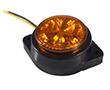 Lampa obrysowa 3.0W, b. pomarańczowa, 180°, 12-24V DC,: OLOBP.3.0W-IC_259