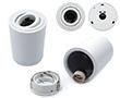 materiał: aluminium, kolor: biały, GU10, 114x82mm, 0,25kg, IP20: OLOP.SPOT11x8.GU10