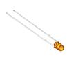 LED 3 mm; pomarańczowa (612nm); jasność 40 -80 mcd; przeźroczysta;: OLP.3c0080