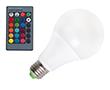 Żarówka LED 15.0W (odpowiednik 120W), RGB, 900-1050lm, 120°, 85-265V AC CRI>80: OLRGB.B15.0W-E27R