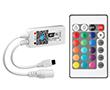Sterownik WiFi do taśm LED RGB-R; z pilotem IR;  Iwy: 4A/ kanał, Nap: 5 -24V DC: OLT.CTRL-RGB-WiFi-mini-R