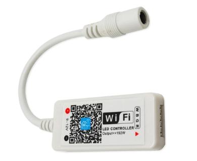 Sterownik WiFi do taśm LED RGBW;  Iwy: 4A/ kanał, Napięcie: 5 -24V DC: OLT.CTRL-RGBW-WiFi-mini
