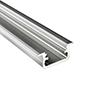 Profil aluminiowy do taśm LED BIG; aluminium anodowane; kolor srebrny: OLT.PR-BIG2.0-sa