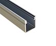 Profil aluminiowy do taśm LED BIG; aluminium anodowane; kolor srebrny: OLT.PR-BIGX2.0-sa
