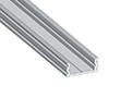 Profil aluminiowy do taśm LED LP7; aluminium anodowane; kolor srebrny: OLT.PR-LP7-2.0-sa