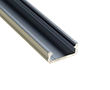 Profil aluminiowy do taśm LED MIDI; aluminium anodowane; kolor srebrny: OLT.PR-MIDI2.0-sa
