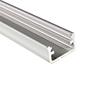 Profil aluminiowy do taśm LED MINI; aluminium anodowane; kolor srebrny: OLT.PR-MINI2.0-sa