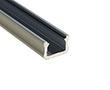 Profil aluminiowy do taśm LED MINIX; aluminium anodowane; kolor srebrny: OLT.PR-MINIX2.0-sa