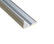 Profil aluminiowy do taśm LED schodowy BIG; aluminium anodowane; kolor srebrny: OLT.PR-STAIR.BIG2.0-sa