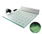 zestaw SHELF 32x32cm srebrny; barwa światła: zielona: OLT.S-SHELF32S-Z