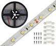 Taśma LED naturalna biała (4000K), 300LED 3528, 2A, 48W, 24V, 120°, 1500lm: OLTBN300A68b24s