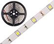 Taśma LED zimna biała (6300K), 150LED 5050, 1.4A, 33.6W, 24V, 120°, 1683lm: OLTBZ150B65b24s