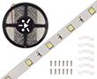 Taśma LED zimna biała (6300K), 150LED 5050, 1.4A, 33.6W, 24V, 120°, 1683lm: OLTBZ150B68b24s