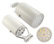 Reflektor szynowy TRACK LIGHT 15W, biała ciepła (3000K), 1800lm, 45°, 230V: OLTR.15.0W-2WB-J