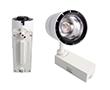 Reflektor szynowy TRACK LIGHT 30W, biała ciepła (3000K), 2400lm, 15°, 230V: OLTR.30.0W-2WB-L