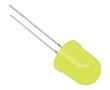 LED 10mm; żółta (590nm); jasność: 150 - 220mcd; matowa: OLY10m220