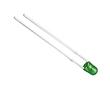 LED 3 mm; zielona (530nm); jasność 350 -600 mcd; przeźroczysta;: OLZ.3c0600