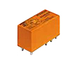 Power Relay 12VDC 8A DPDT(29x12.7x15.7)mm THT: P 8-1393243-2