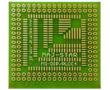 Płytka drukowana, jednostronna do montażu SMD PLCC16 - PLCC84_: PD MS-DIP/PLCC4