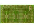 Płytka drukowana, jednostronna do montażu komponentów SMD: PD MS-DIP/SMD1