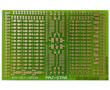 Płytka drukowana, jednostronna do montażu komponentów SMD: PD MS-DIP/SMD5