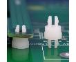 Wspornik do płytek PCB; długość: 4.8mm; kolor: biały; materiał: Nylon 66 (UL);: PDA SP1-4.8