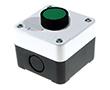 Przycisk zielony, kryty, bez podświetlenia, IP40/54: PRZ LAY5-B101