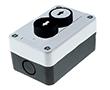 Przyciski:biały(czarna strzałka)+czarny(biała strzałka),kryte,bez podświetlenia: PRZ LAY5-B222