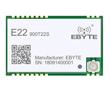 Moduł LoRa oparty na układzie Semtech SX1262, 850.125÷930.125MHz, UART, zł I-PEX: RF E22-900T22S