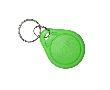 Brelok RFID TK4100, zielony, 64bit, 125kHz, ABS, tylko odczyt, nadruk: RF KF125K-GN-P