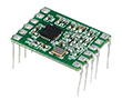 Wielokanałowy transceiver radiowy oparty na układzie CC1101: RF RC-CC1101-SPI-868
